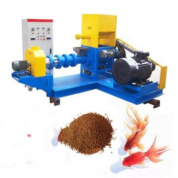 with a Very Good Price Different Sizes Floating Pelleted Fish Feed Making Machine