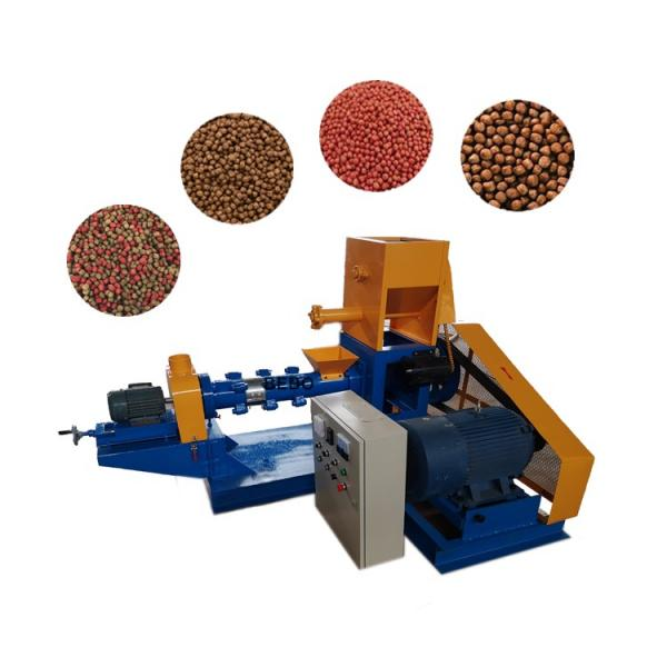 1-2 T/H Fully Automatic Animal Feed Production Line / Broiler Feed Processing Machine