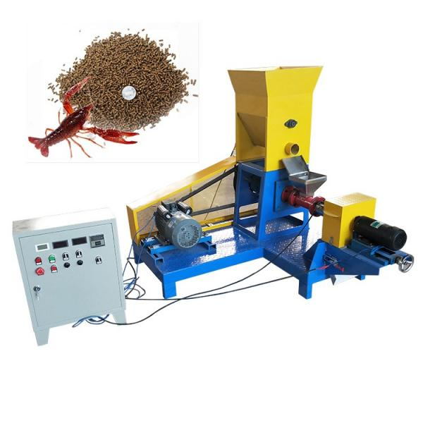 Fish Farm Floating Fish Feed Pellet Machinery Extruder